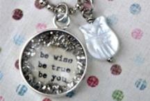 Message Necklaces / by Kim at eCrafty.com
