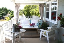 Outdoor Spaces / by Christina Marie {Christina's Adventures}