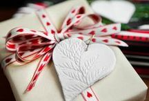 Homemade Gift Wrap / by Debbie Wooten