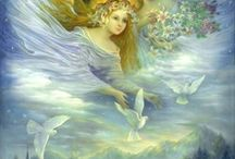 Angels Are With Us Always! / I Believe In Angels / by Velva Walter