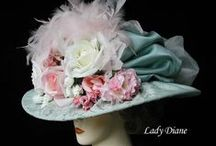 Mad Hatter / Hats are a fun way to celebrate the Preakness and Kentucky Derby.Or maybe even tea with the Queen.Just remember-the crazier the better! / by Diane Freyer Hockstad