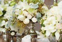 Wedding / Noriega & Bywaters DIY Vintage Romance Wedding 2014 I am frugal but resourceful. The colors are  ivory ,blush, grey with hints of mercury and gold / by Heidy Noriega