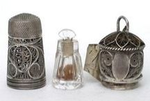 Antique ➤ thimbles / by Jenny Skinner