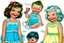 Dolls  paper / by Joanne Cranston