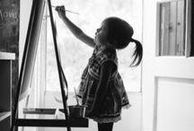 Enfants et Bébés / by Melanie Hamblin
