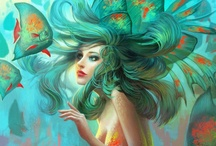 I wish I was a mermaid, and friends with all the fish / by Sarah Luisa-Zombie
