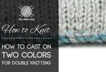 Knit Love - Tips, Tricks and Techniques / by Susan Padilla