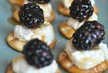 Appetizers/Snacks / by Melanie Hamblin