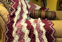 Afghans, Blankets n Squares / by Marie Hahn