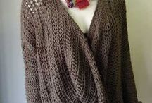 Crochet Wraps, shawls and sweaters / by Marie Hahn