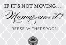 Monogram Bliss / by Liz Deering