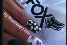 My Nail ART / Nail art created and made by me. https://www.facebook.com/pages/My-Beach-Nails/401039179947662?ref=hl or http://beachingnails.blogspot.com/ / by Beaching Nails