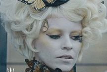 Effie Trinket Butterfly Costume / Reference pics & supplies / by Dianne Williams