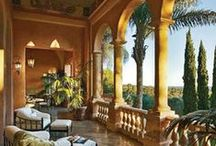 Tuscan Villa's, House Colors & Touch of SF / by Stefani Thionnet