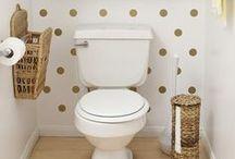bathroom re-do / by Leah Buckley