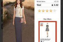 Covet Fashion Game Winners / Covet Fashion Game screenshots showing winning outfits (above 4  stars).  If you would like to contribute to this board, please drop me a line. :) / by December M