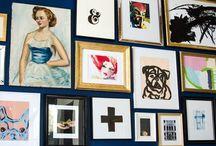 inspiration: gallery walls / by Brooke Waite @ Design Stash