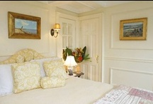 Nantucket Rooms / Renovating and re-designing our historic 1833 bed and breakfast Nantucket style. The rooms are decorated with the traveler in mind without sacrificing the charm and the history . / by Century House Nantucket