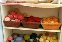 knitting / by Diana Spunkt-Wpunkt