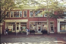 Nantucket Charming Streets / Charming Nantucket streets. Stroll down some of the most beautiful and memorable areas of the island. Enjoy! Stroll down to Cliff Road and our historic bed and breakfast http://www.centuryhouse.com / by Century House Nantucket