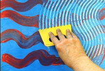 art projects- painting / by Sarah Alvarez