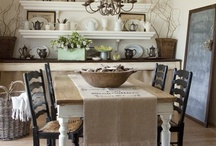~Dining Rooms~ / by Valerie Russell McBroom