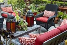 The Great Outdoors / Beautiful patio, gardening and curb appeal ideas for the home. / by Lauren Green