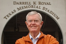 Darrell K Royal (July 6, 1924-Nov. 7, 2012) / Former Texas Longhorns head coach Darrell K Royal passed away on Wednesday, Nov. 7, 2012, at the age of 88 in Austin, Texas. DKR's Texas teams won 167 games, 11 conference championships, played in 16 bowl games and claimed three national championships. / by Texas Longhorns