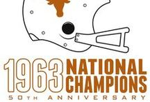 2013 Countdown to Kickoff / Join Texas Football in celebrating the 50th anniversary of the 1963 championship season – their first national title – by counting down to the Longhorns' first game of the 2013 season on Saturday, Aug. 31 vs. New Mexico State. #UT63Champs / by Texas Longhorns