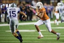 Texas Football vs. K-State [Sept. 21, 2013] / Behind a career-high 141 rushing yards and two touchdowns from Johnathan Gray and a defense which forced three turnovers, Texas Football defeats K-State, 31-21, at Darrell K Royal-Texas Memorial Stadium in the Big 12 Conference opener for both teams. / by Texas Longhorns
