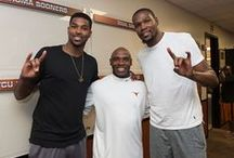 Longhorns in the NBA / Former Texas Longhorns playing in the National Basketball Association. / by Texas Longhorns