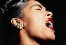 The Beautiful Lady Day - Miss Billie to you!! / by ღ Carmen ✿ڿڰۣ(̆̃̃ღڿڰۣ B ⊱╮
