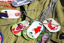 Cool NEW NPL Products! / NEW PRODUCTS JUST LAUNCHED! Dog tags, luggage tags, and keychains just in time for travel season and back to school prep. / by Nations Photo Lab
