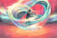 Master of the Elements / Avatar: the last air bender. Legend of Korra. / by Kylie K.