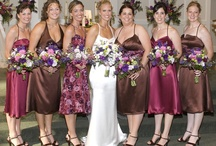 NonMatching Bridesmaid Dresses / Inspiration and Ideas for bridesmaid dresses that don't match.  Like when a bride has all of her girls wearing totally different dresses, but they look great together. / by Avail & Company / Avail Couture
