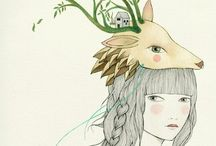 / Illustration love - / by Steffi - I Love Eco Blog -