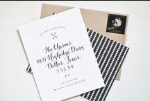 Moving Announcements / by Oh So Beautiful Paper