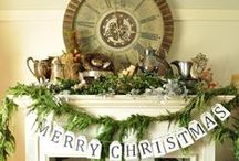 A Vintage Christmas / by Jill Marcott-McCall ~* Feathers & Flight*~