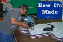 How it's Made /  MySleev™ is 100% made in America. Our fabric comes from Sand Textiles, Inc. out of California, it is manufactured by The Dallas Lighthouse for the Blind and fulfilled by them as well using FedEx services. The Dallas Lighthouse for the Blind employs visually impaired individuals for their sewing manufacturing department; this is a win/win for us both. The Dallas Lighthouse for the Blind maintains high standards producing quality products.  / by MySleev