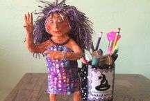 Paper Mache, Clay / by Sara Brock