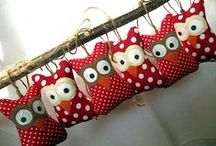 Sewing - Owl patterns & templates / by Sherry Zhen