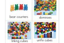 Classroom Labels / by Karen Cox @ PreKinders