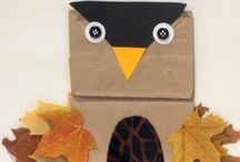 November Pre-K Ideas / Ideas for Thanksgiving and Fall in Pre-K and Preschool / by Karen Cox @ PreKinders