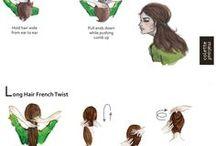 Hair/Makeup/Nails / by Rachel Bowden