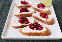 A Cookboard For Snacks & Appetizers / by Jolie Kerr