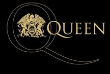 Queen /   Freddie Mercury✞  John Deacon  Brian May  Roger Taylor    / by Paige