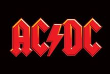 AC/DC /  Angus Young  Malcolm Young  Phil Rudd  Bon Scott✞  Cliff Williams  Brian Johnson  / by Paige