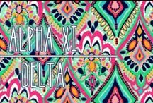 Alpha Xi Delta Board / Inspiring you to realize your potential. / by Kate Elizabeth