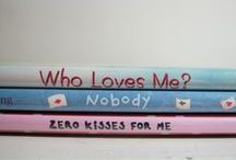 Book Spine Poetry / Just like magnet poetry, but better! Use book titles to create your own inspired poem.  / by Westerville Library