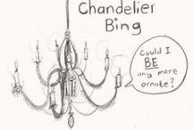 Chandeliers! / by Lise Gillen